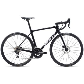 Giant TCR Advanced 2 Disc Pro Compact landeveissykkel Herre Svart