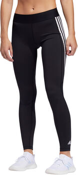 adidas Alphaskin 3-Stripes tights dame Svart