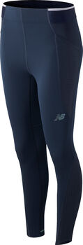 New Balance Q Speed ​​Fuel 7/8 tights dame Blå