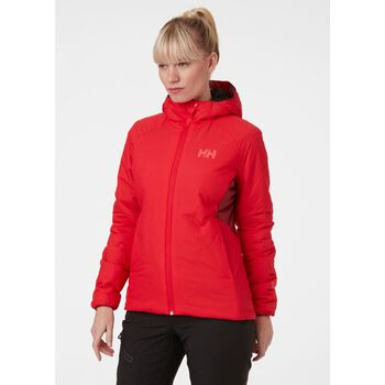 Helly Hansen Odin Stretch Hooded Insulator jakke dame Rød