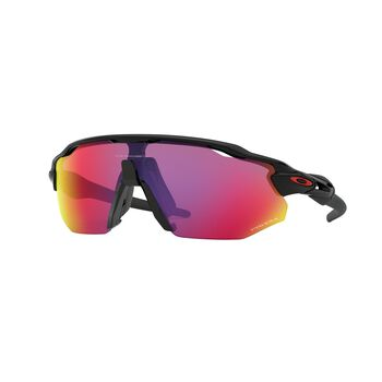 Oakley Radar EV Advancer Prizm™ Road - Polished Black sportsbriller Herre Lilla