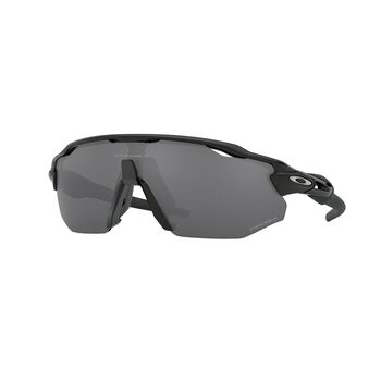 Oakley Radar EV Advancer Prizm™ Black Polarized - Polished Black sportsbriller Herre Svart