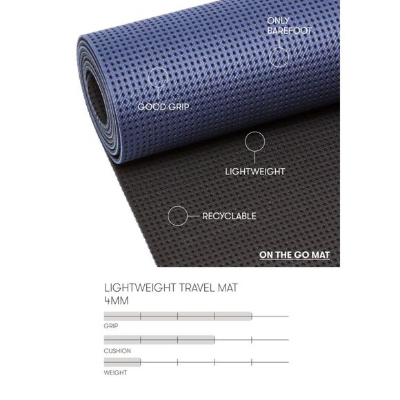 Travel Mat 4mm yogamatte