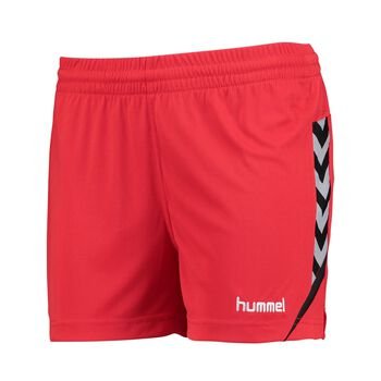 Hummel Authentic Charge Poly treningsshorts dame Rød