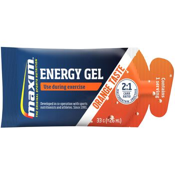 MAXIM Instant Energy Gel 33G Orange karbohydratgel Blå