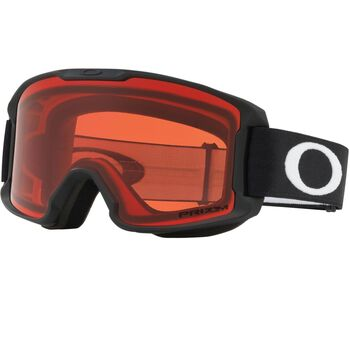 Oakley Line Miner Youth Prizm™ Rose - Matte White alpinbriller junior Svart
