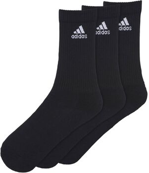 adidas 3-Stripes Performance 3-pk tennissokk Svart